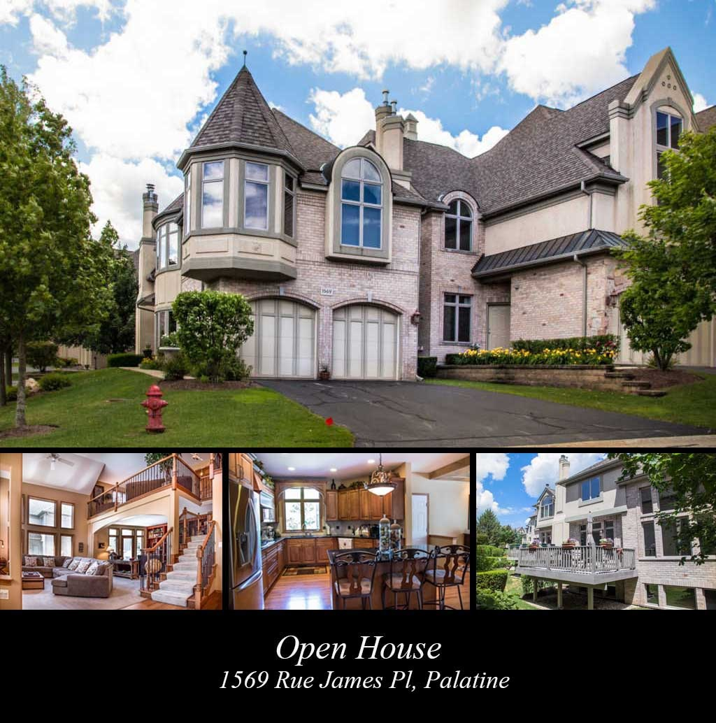 Open House 1569 Rue James Pl, Palatine