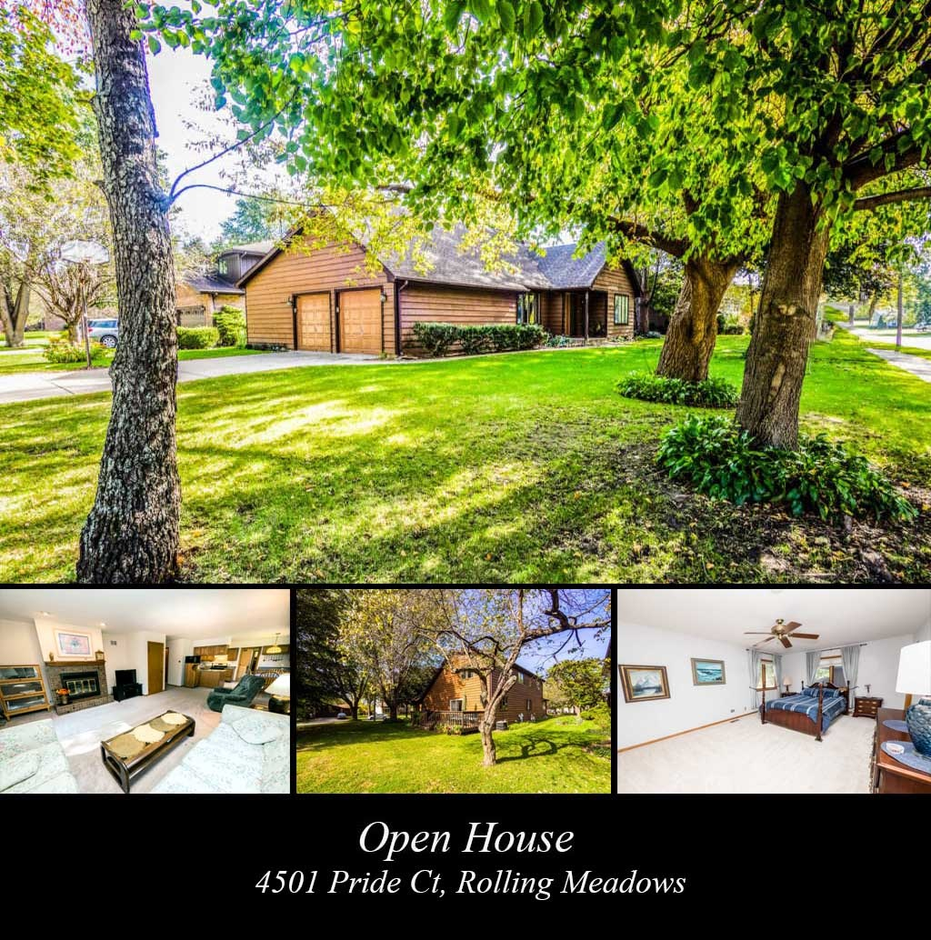 Open House - 4501 Pride Ct, Rolling Meadows