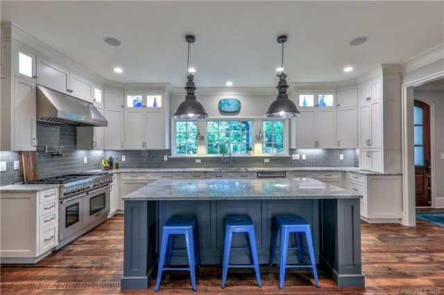 Lewis Kirk Blog Best Paint Colors to Sell Your House Blue Gray Kitchen