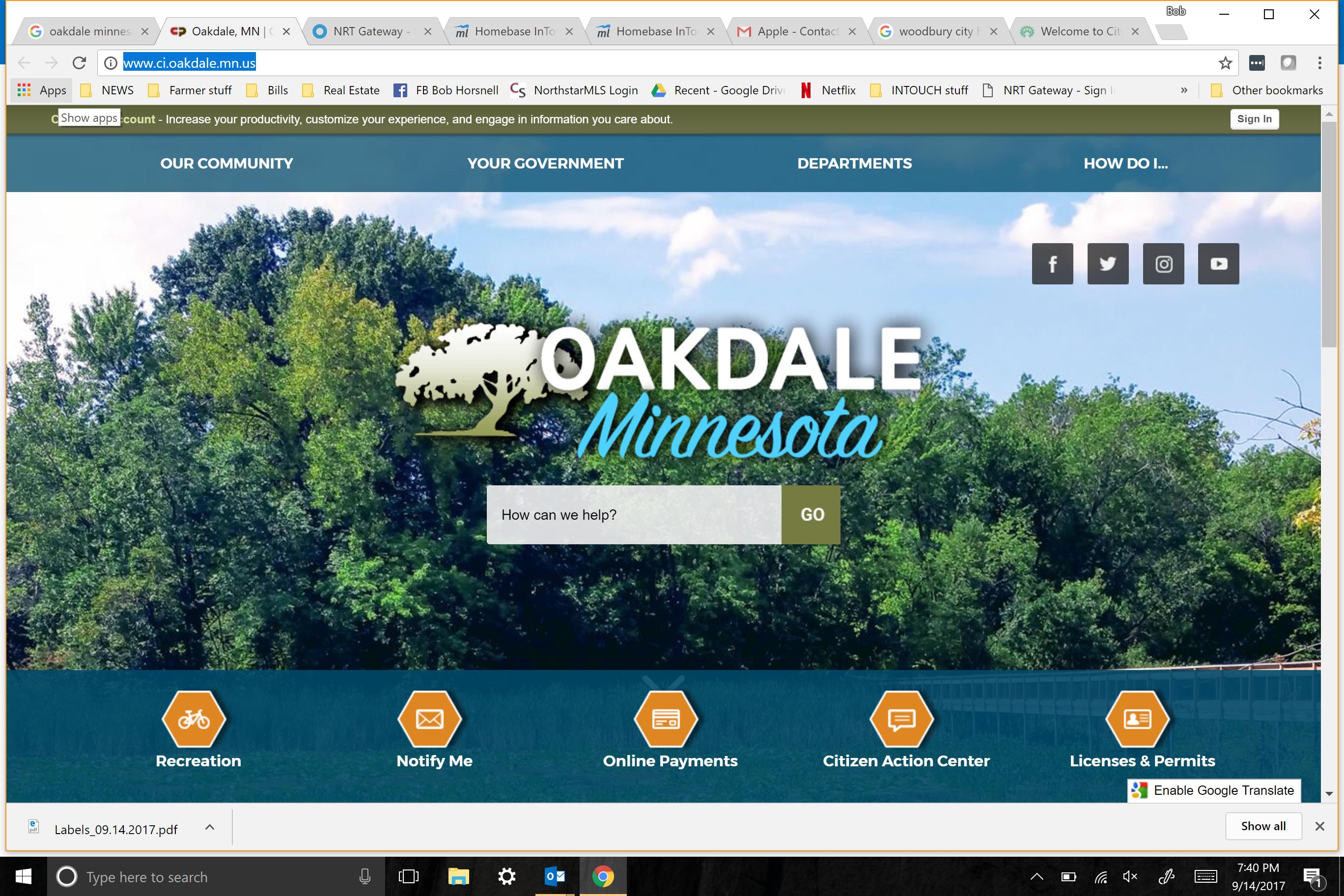 Oakdale, Minnesota — Photos, Maps & News — TravelTempters
