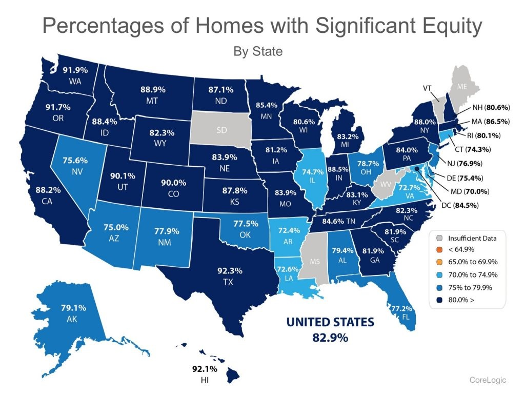 712,000 Homes in the US Regained Equity in the Past 12 Months Graph 2