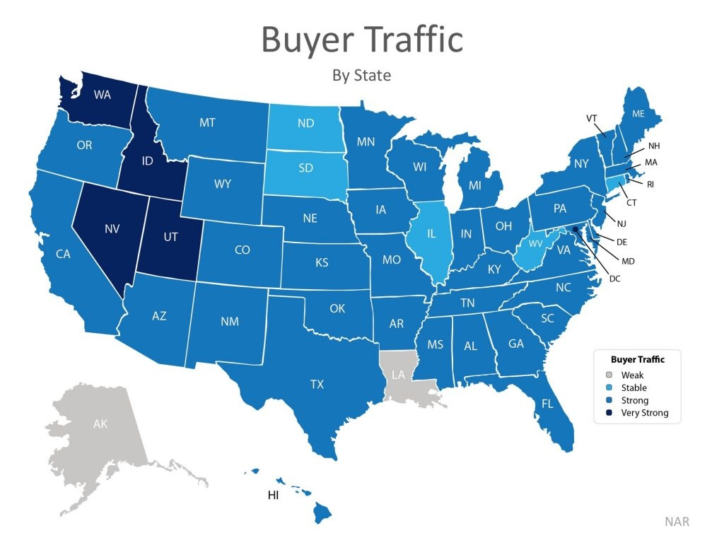 Latest NAR Data Shows Now Is a Great Time to Sell! Graph