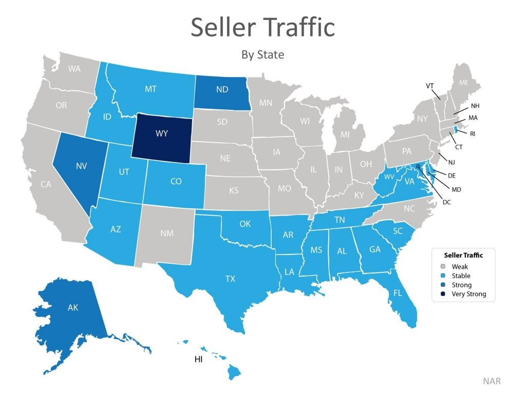 Buyer Demand Still Outpacing the Supply of Homes for Sale Map 2