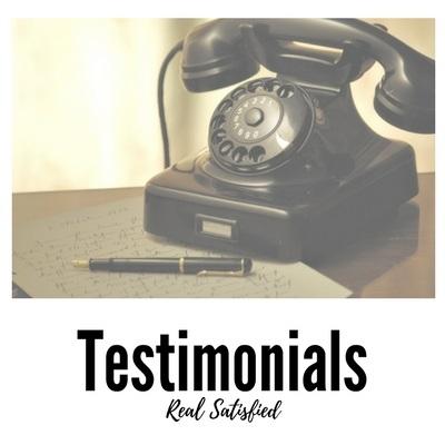 View my Client Testimonials