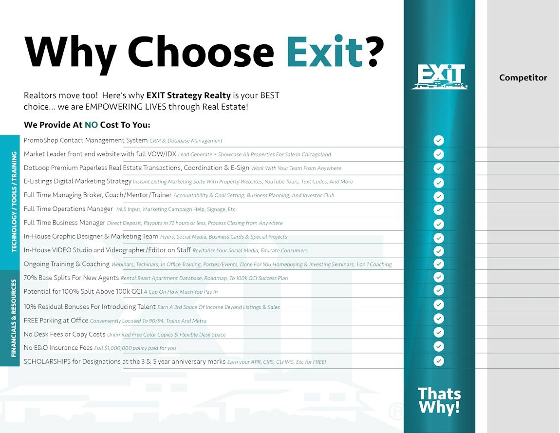 Why Choose Exit
