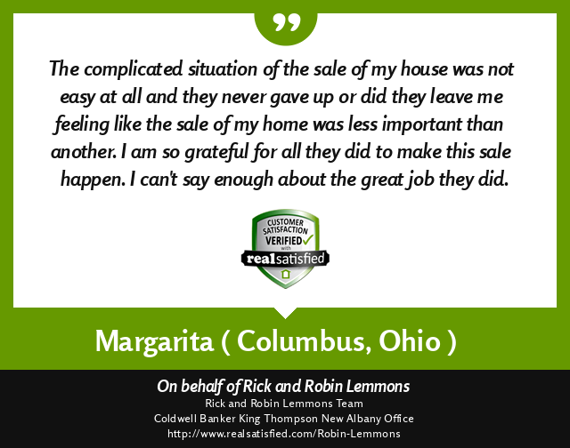 Margarita Testimonial June