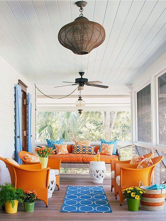 color porch