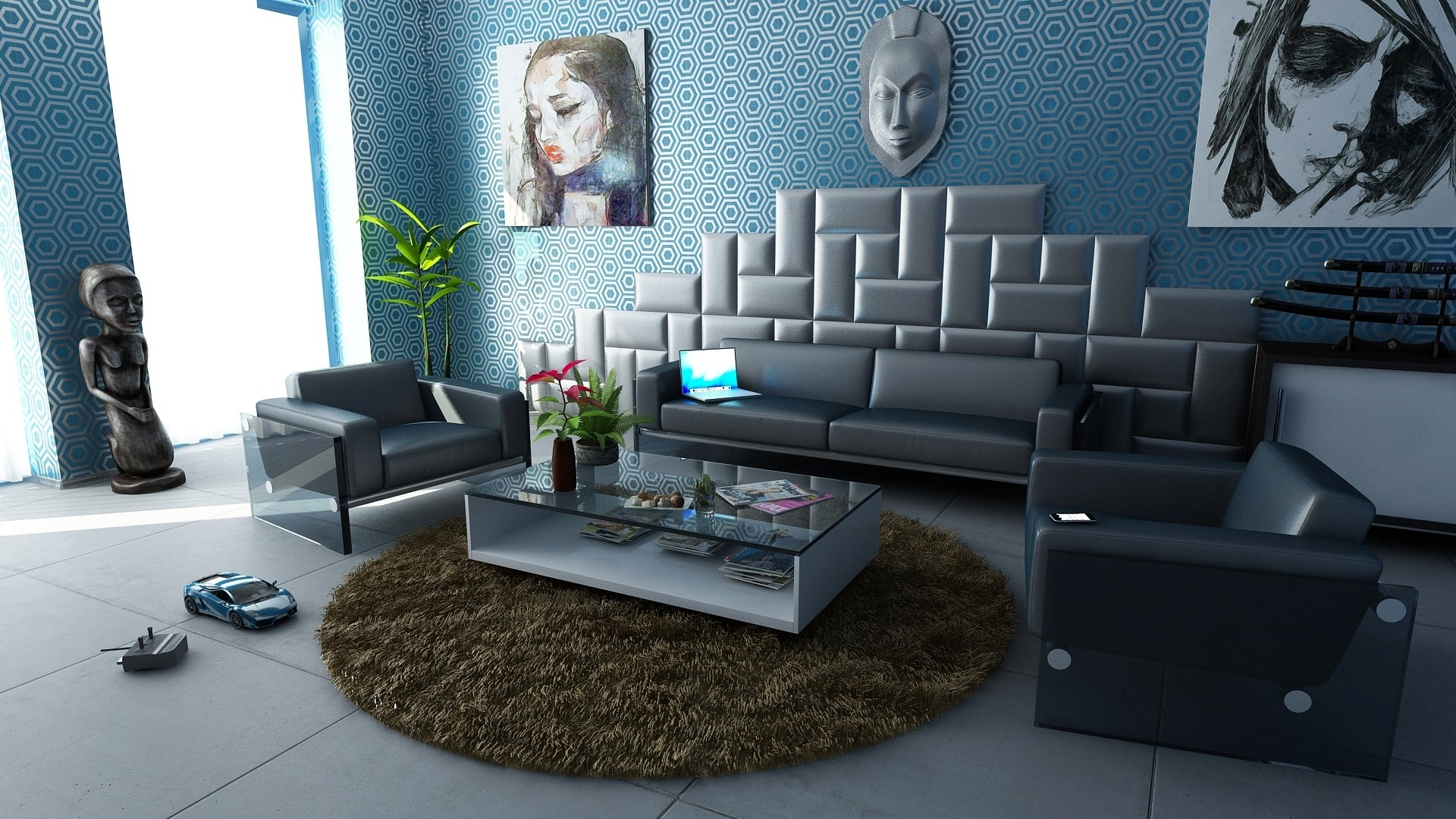 apartment-architecture-armchair-271805