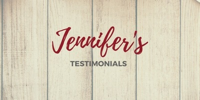 Jennifer's Testimonials