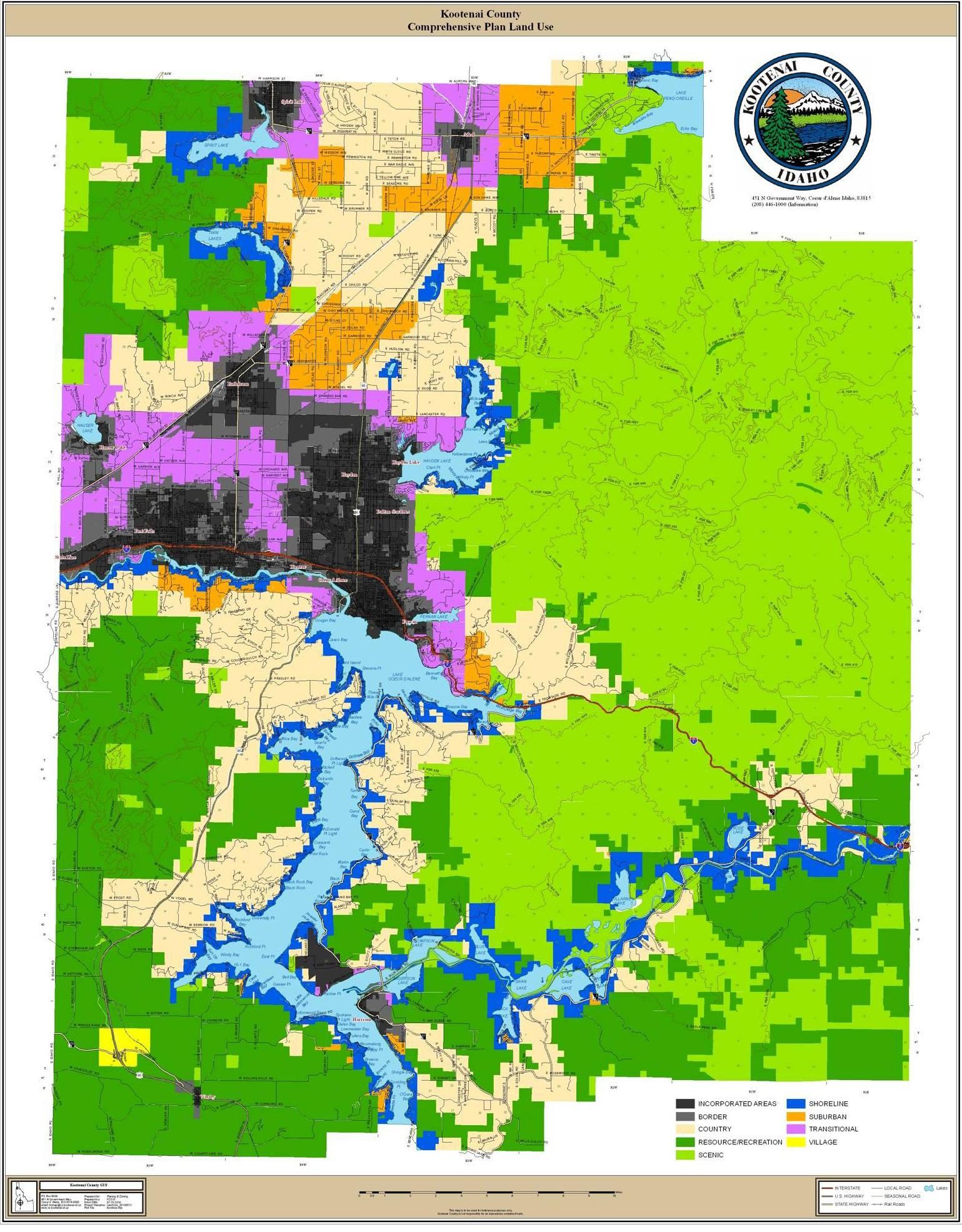Kootenai County Land use