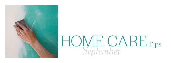 Home Care Tips September