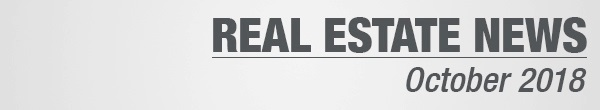 Real Estate News October 2018