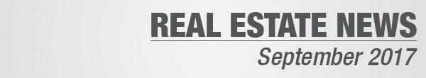 Real Estate News September 2017
