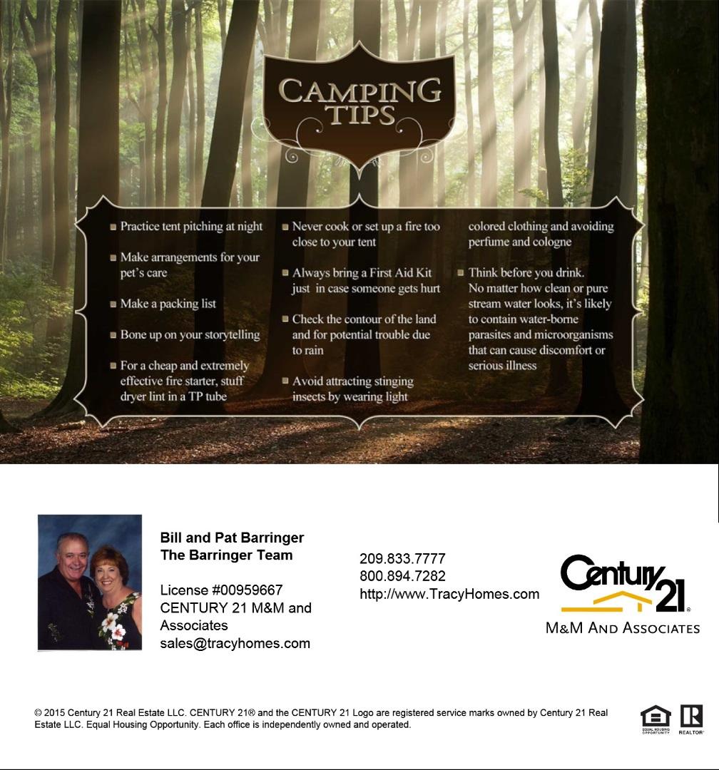 Camping Tips2016