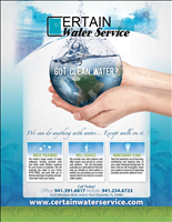 Certain Water Service, Inc.