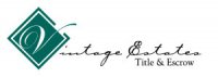 Vintage Estates Title and Escrow Logo