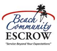 Beach Community Escrow Logo