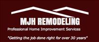 MJH Remodeling Logo
