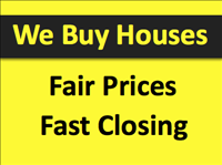 WE BUY HOMES FAIR PRICES, TAKE OVER PAYMENTS, CASH or TERMS.