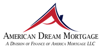 American Dream Mortgage a Divsion of Finance of America Mortgage LLC 1071 Logo