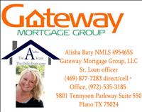 Gateway Mortgage Group, LLC- The Alisha Team