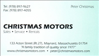 Christmas Motors