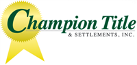 Champion Title & Settlements, Inc Logo