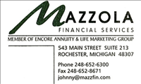 Mazzola Financial Services