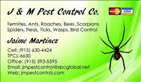 J & M Pest Control Co
