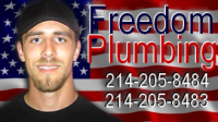 Freedom Plumbing Logo