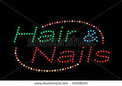 Hair and Nails Logo