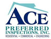 ACE Preferred Home inspections Logo