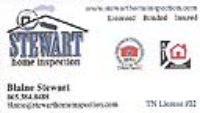 Stewart Home Inspection
