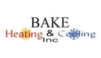 Bake Heating and Cooling, Inc Logo
