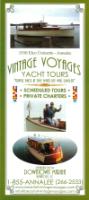 Vintage Voyages, Yacht Tours