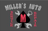 Miller's Auto Service & Repair Logo