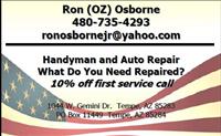 Ron Osborne Handyman Services