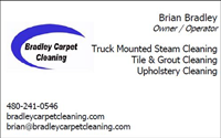 Bradley Carpet Cleaning