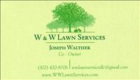 Lawn Care - W & W Lawn Services