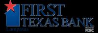 First Texas Bank of Lampasas Logo