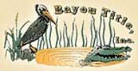 Bayou Title Logo