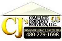 CJ's Complete Property Services, LLC Logo