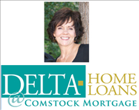 Suzanne Voter, NMLS #230270, Delta Home Loans Logo