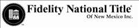 Fidelity National Title Logo