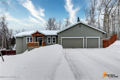 Photo of 8510 Heather Circle, Anchorage, AK 99502 (MLS # 21-2396)