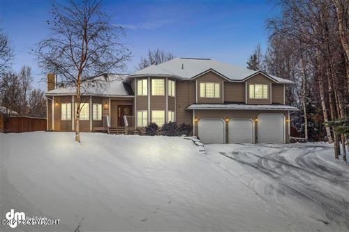Photo of 12421 Caragana Circle, Anchorage, AK 99515 (MLS # 21-744)