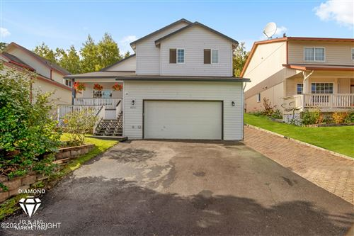 Photo of 8321 Berry Patch Drive, Anchorage, AK 99502 (MLS # 21-14827)