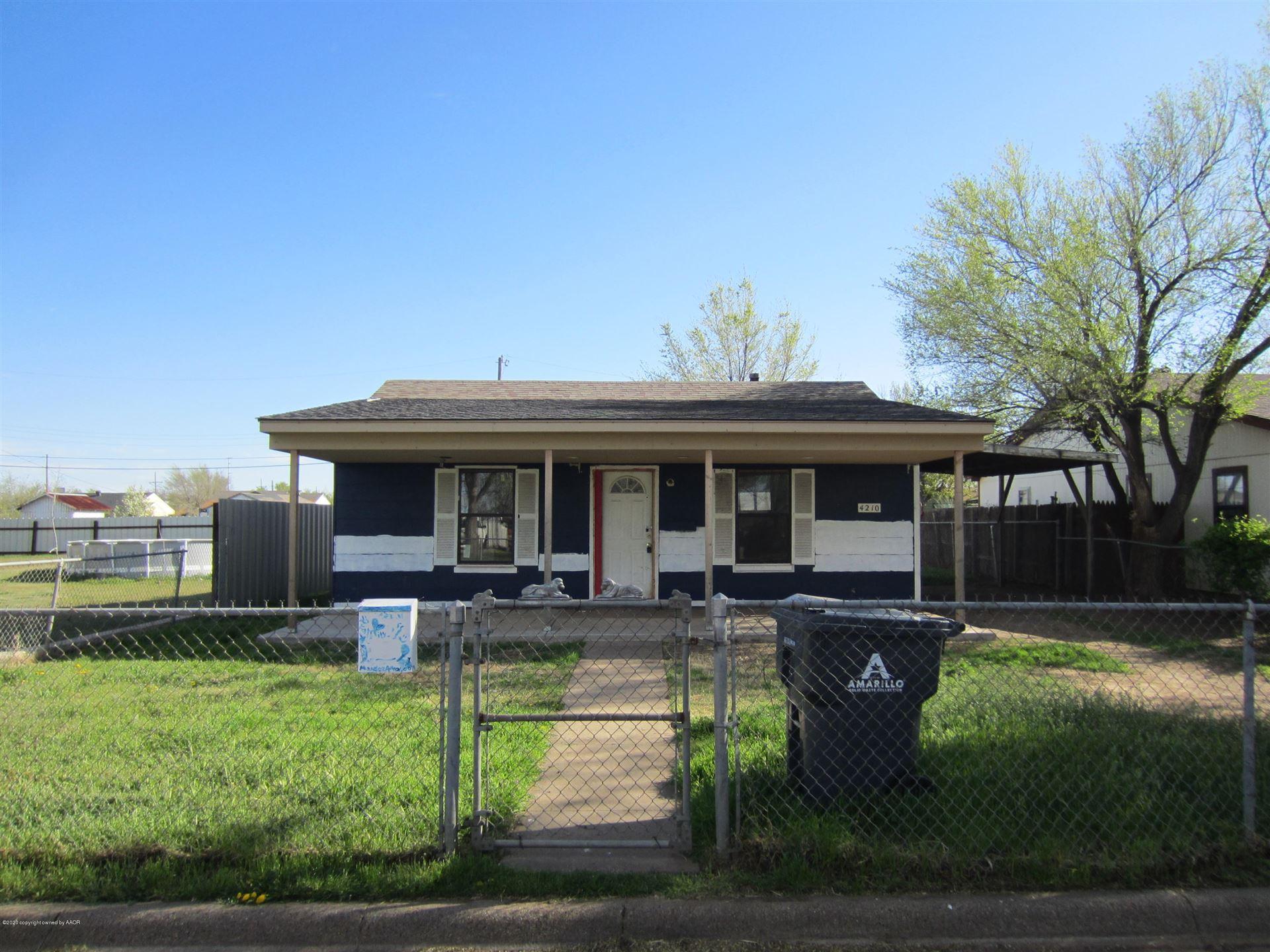 4210 14TH AVE, Amarillo, TX 79107 - #: 20-2102
