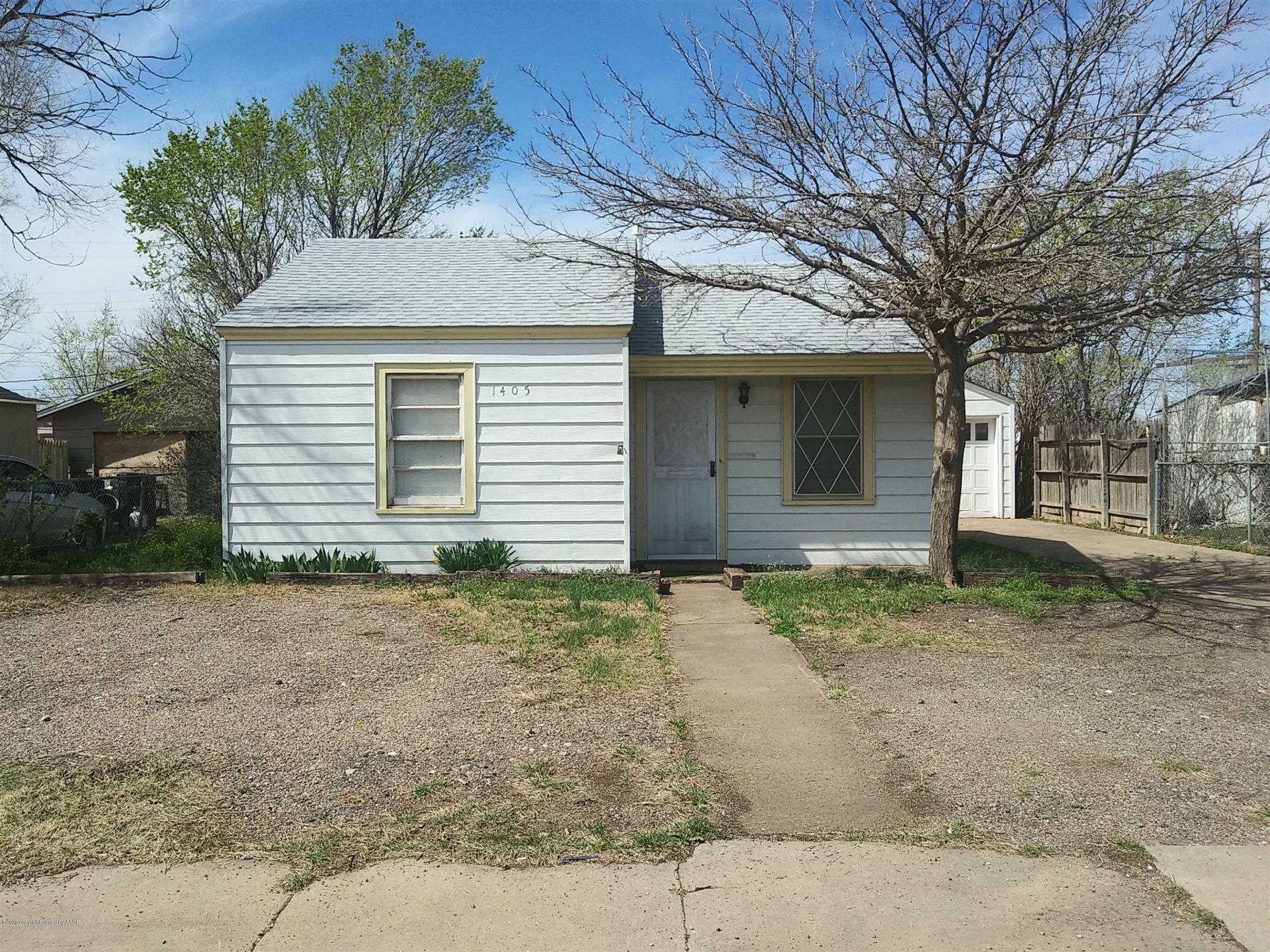 1405 ROOSEVELT ST, Amarillo, TX 79107 - #: 20-1868