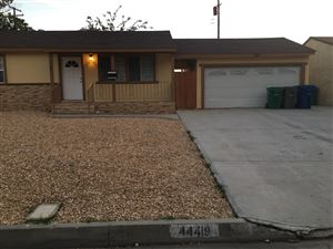Photo of 44419 E 2nd Street, Lancaster, CA 93535 (MLS # 19006664)